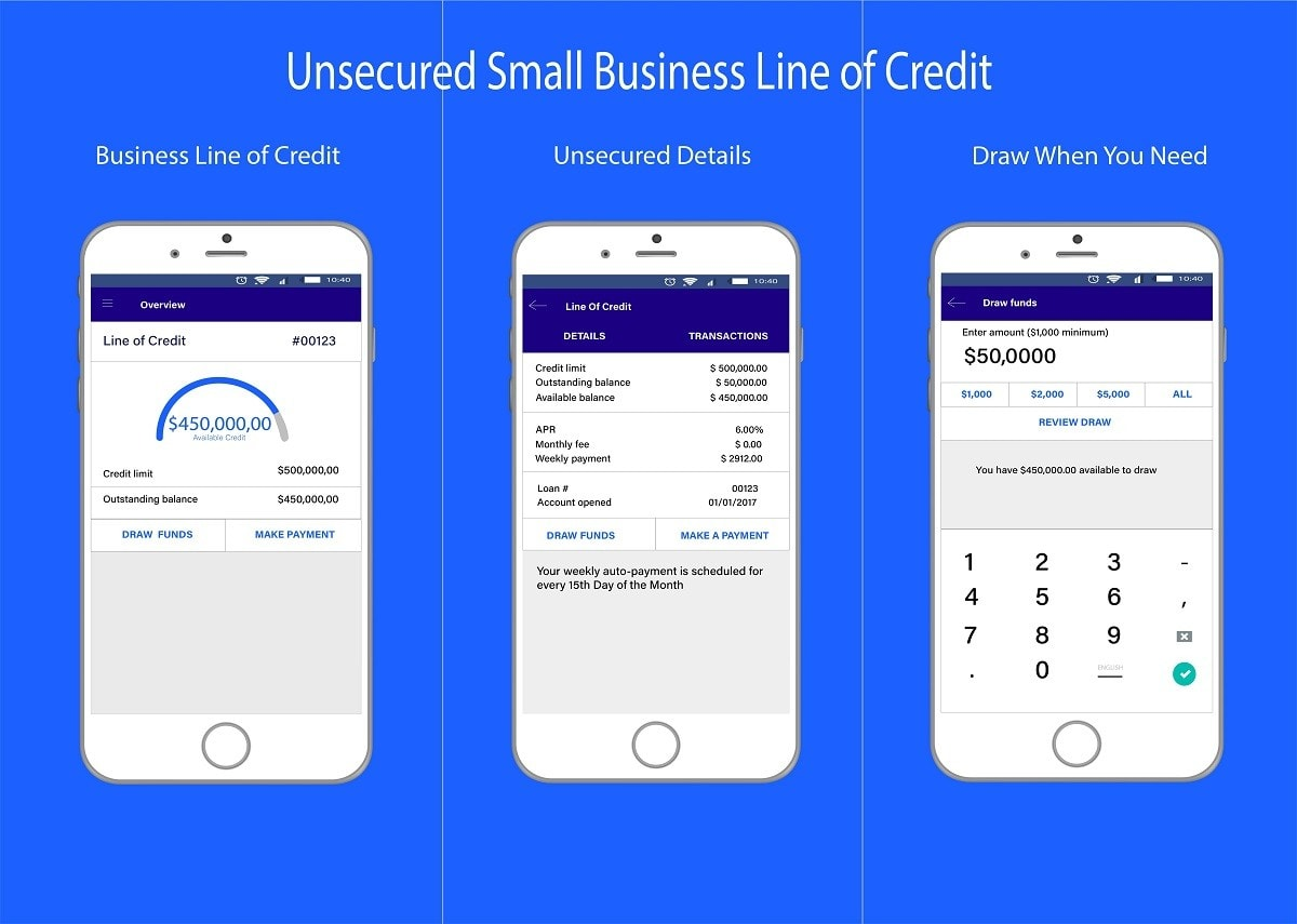 Unsecured Business Credit Line Credit Line Small Business Unsecured Business Line of Credit