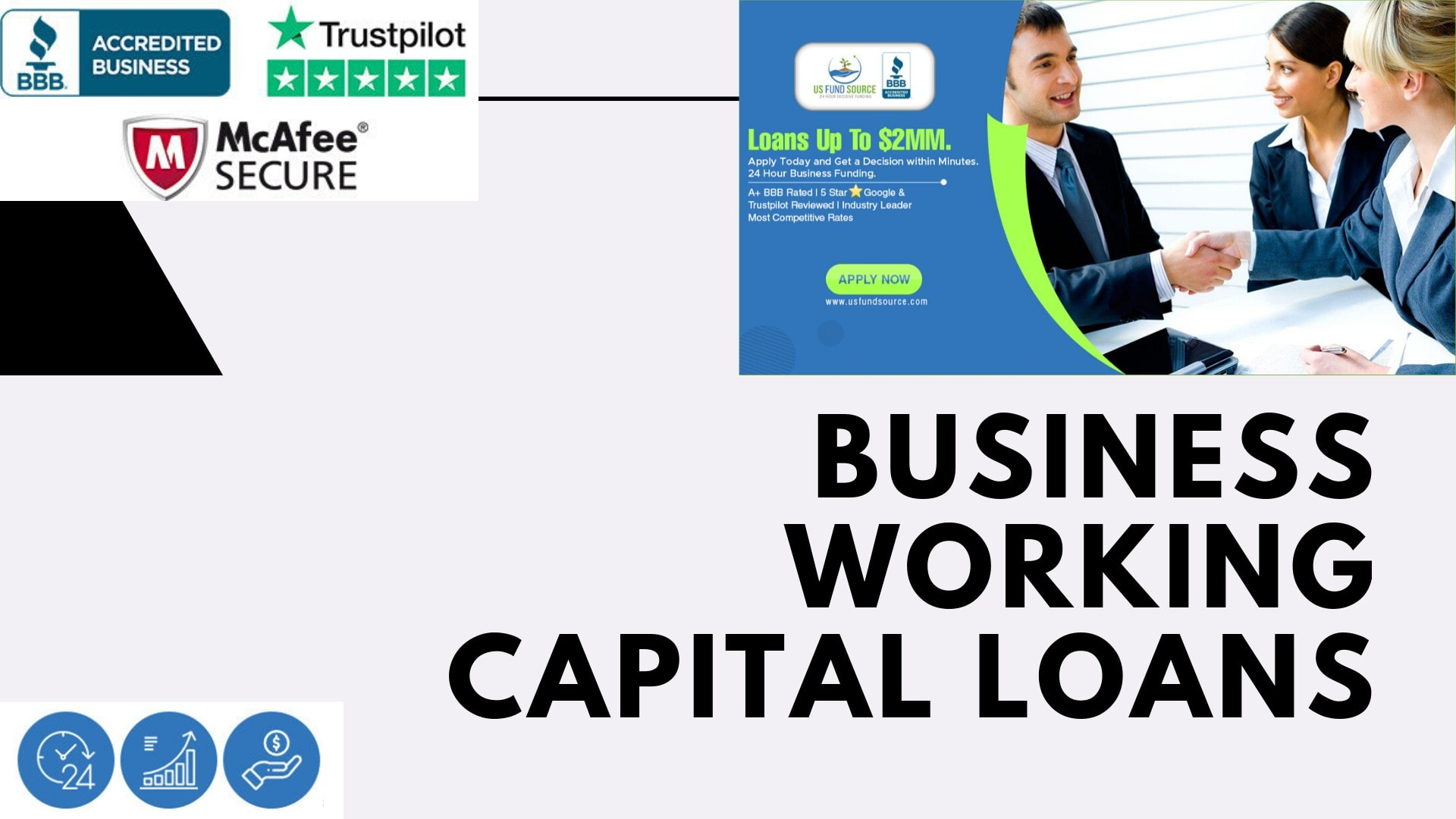 Business Working Capital Loans