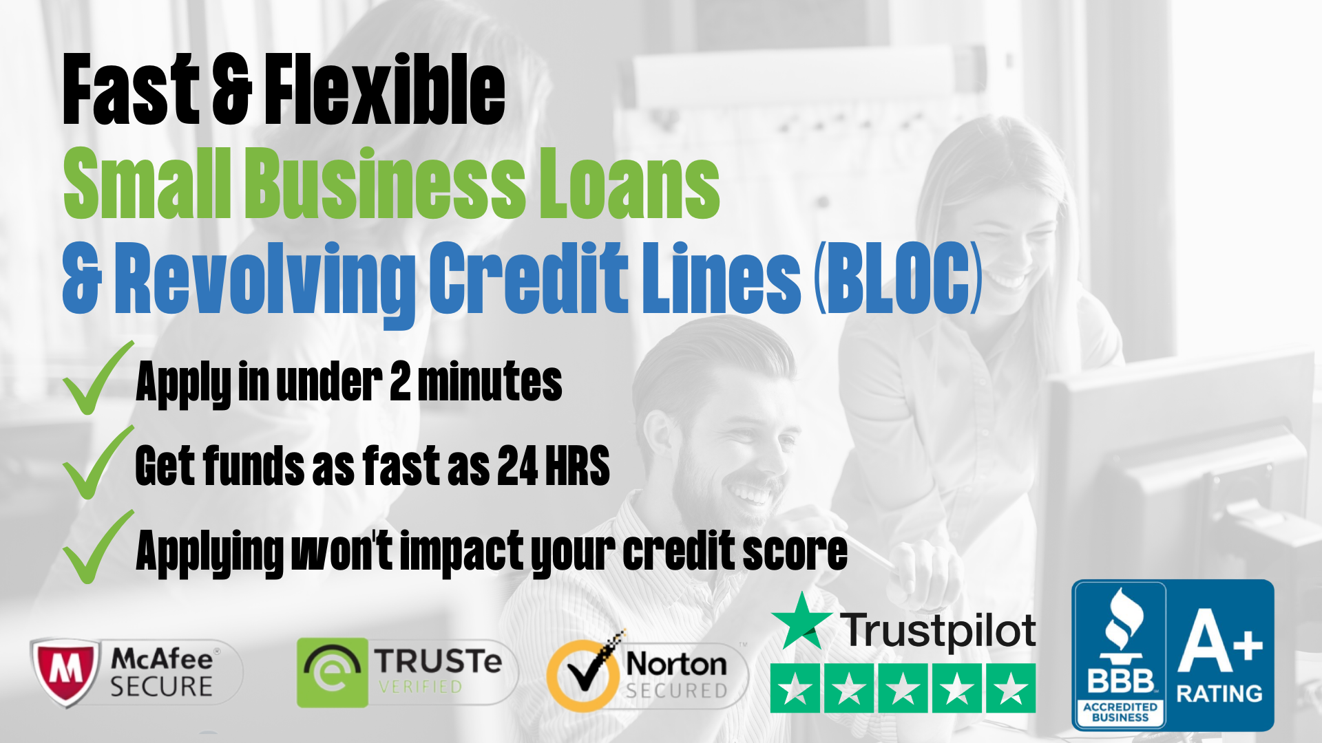 Small Business Loans and Lines of Credit BLOC